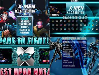 X-MEN: NEXT DIMENSION (MUGEN EDITION) 1.1 Update!
