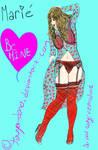 Marie's your Valentine! by touya-dono