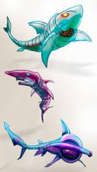 Cudacters Tiburoncines