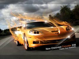 Chevy Corvette Z06 by mushmeshmosh