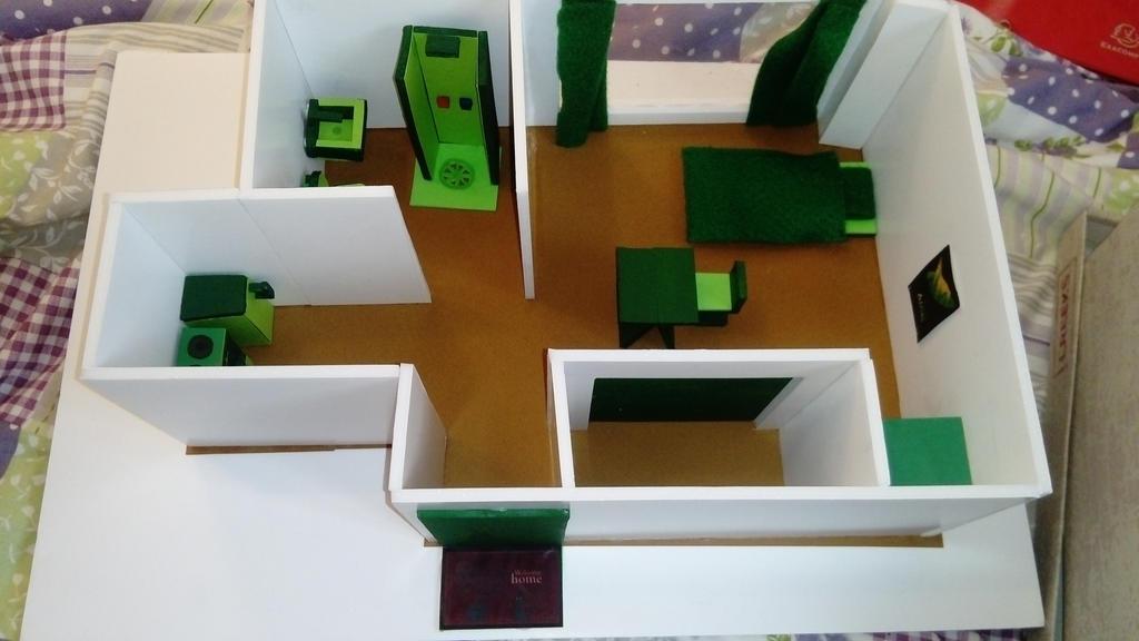 [Model] Dorm room by Kayrou