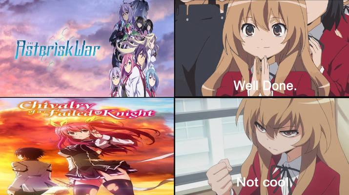Taiga's Reaction to the anime series
