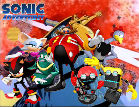 Sonic Adventures Villains Wallpaper By Shegoxp On Deviantart