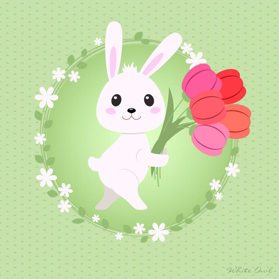 Easter Rabbit by whiteowl152