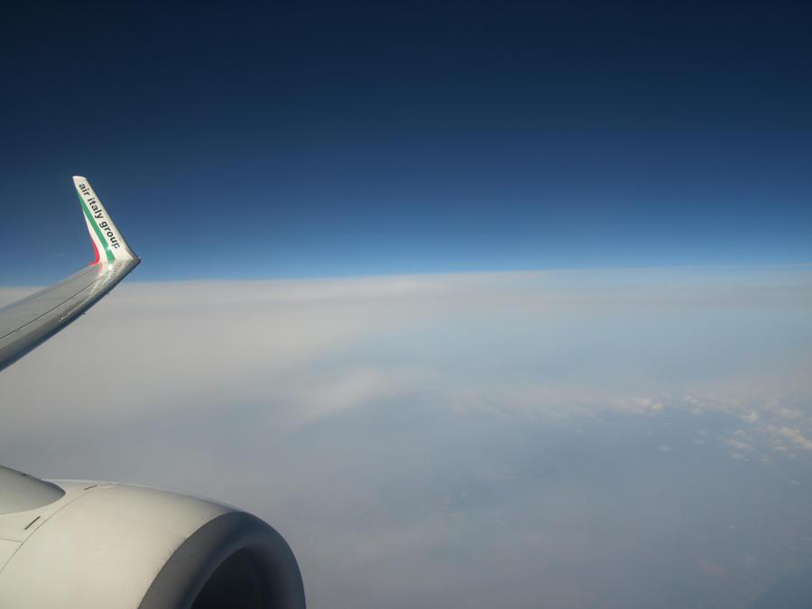 Where the sky ends by Corvuskova