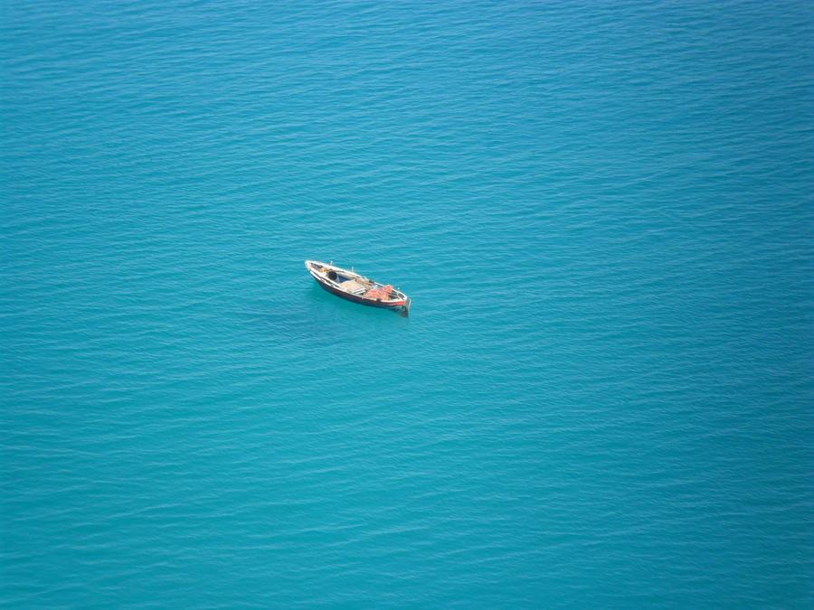 Sea by Corvuskova