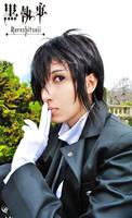 Joey's Sebastian Kuroshitsuji by blondewolf2