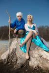 JackFrost x Elsa Cosplay 2 (Video)