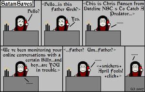 29---April Fools by SatanSaves