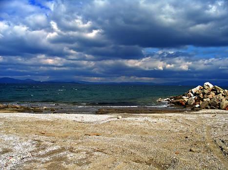 Stock beach