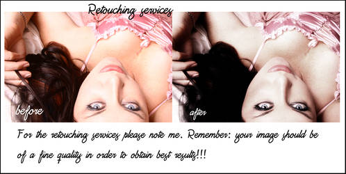 Retouching services IV