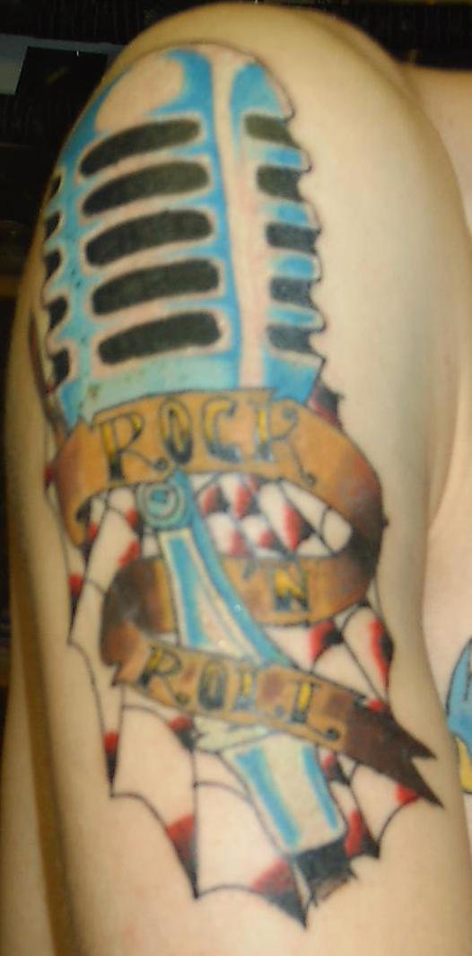 rock n roll - tattoo by ~subversivetattoo on deviantART