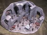 Mines of Moria ~ miniature diorama scratch built 1