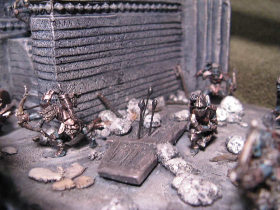Mines Of Moria Miniature Diorama Scratch Built 6 By