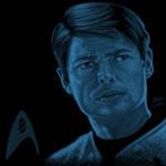 Star Trek portrait series 07 - Bones McCoy - Urban