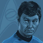 Star Trek TOS portrait series 05 - McCoy - Kelley