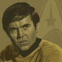 Star Trek TOS portrait series 07 - Chekov - Koenig by jadamfox