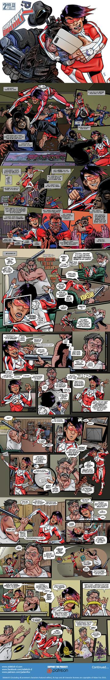 Sidekick'd #2 (Page 1 of 4) by jadamfox