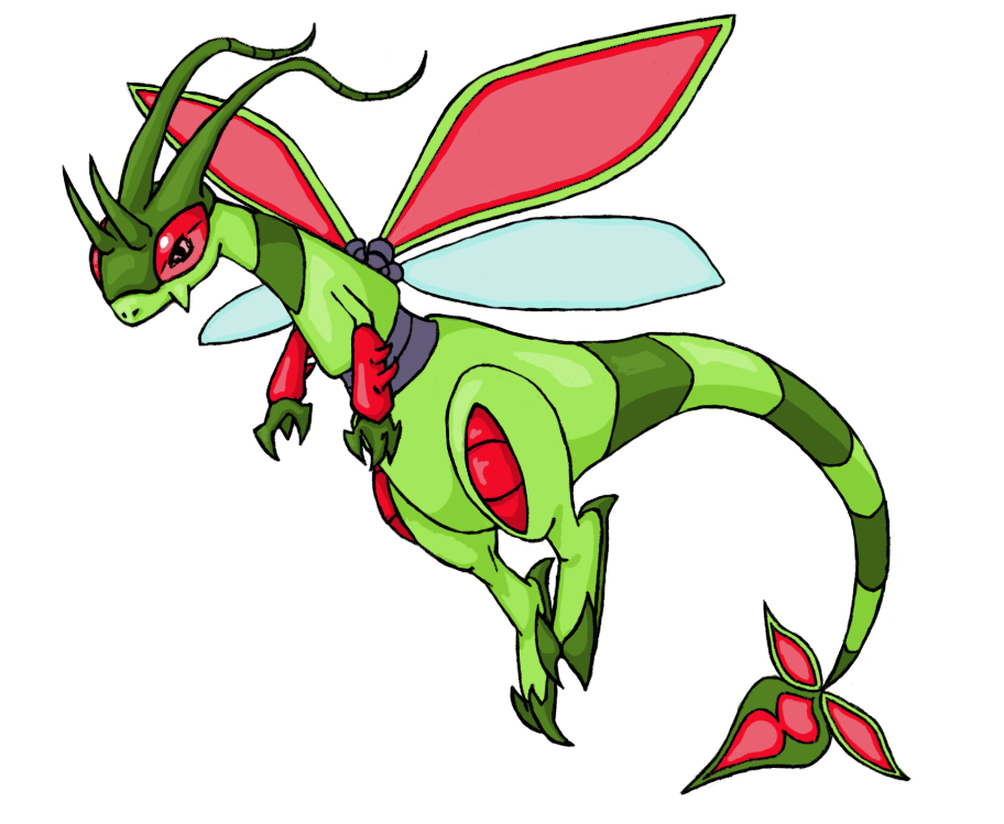 Mega Flygon By Chain Of Ashes On Deviantart