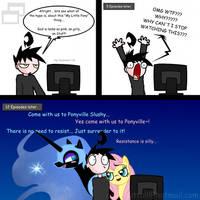 My lil Pony by Slushy-man