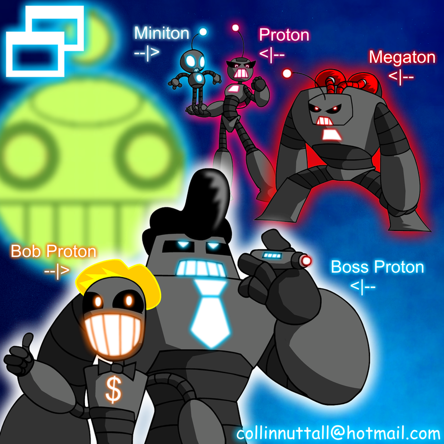 Proton Car Wallpaper: Alien Record: Proton Robots By Slushy-man On DeviantArt