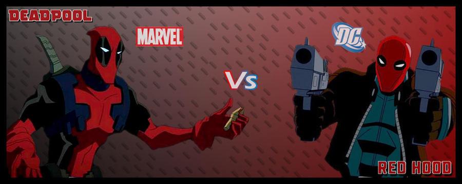 Deadpool Vs Red Hood by LeX-207