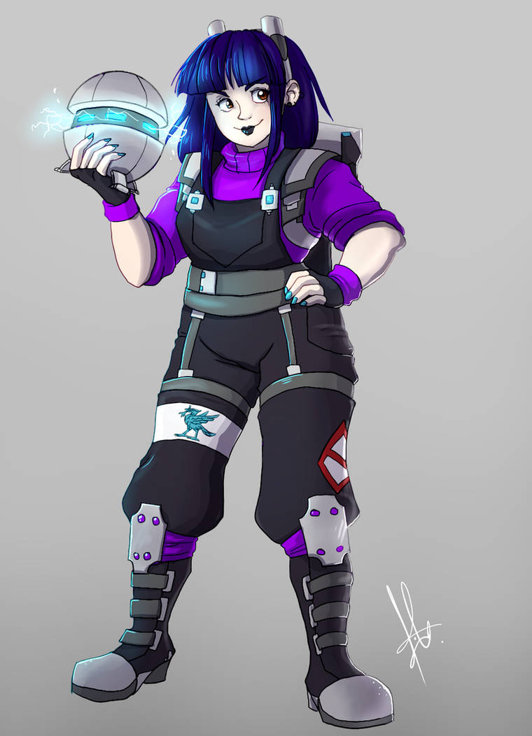 Violet Riley by yuramec
