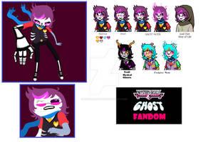 Mystery Skulls Ghost Fandomstuck Character
