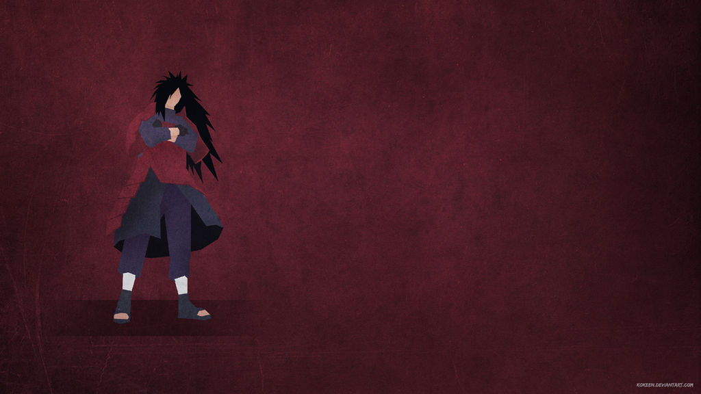 Madara Uchiha 4k Minimalist Wallpaper By Kokeen On Deviantart