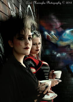 The Goth Tea Party  - Florie and Jess