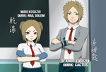 BNHA OC - Mari and Benjiro - Fake Screenshot