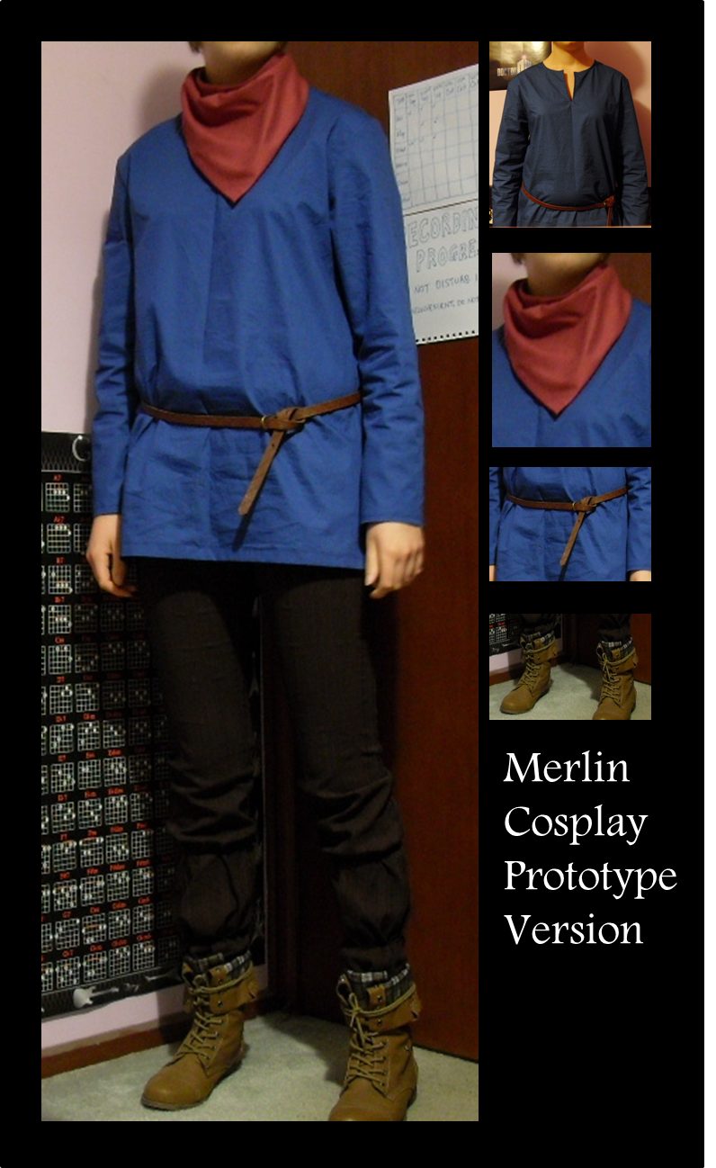 Merlin Cosplay - Prototype by Darkshine97