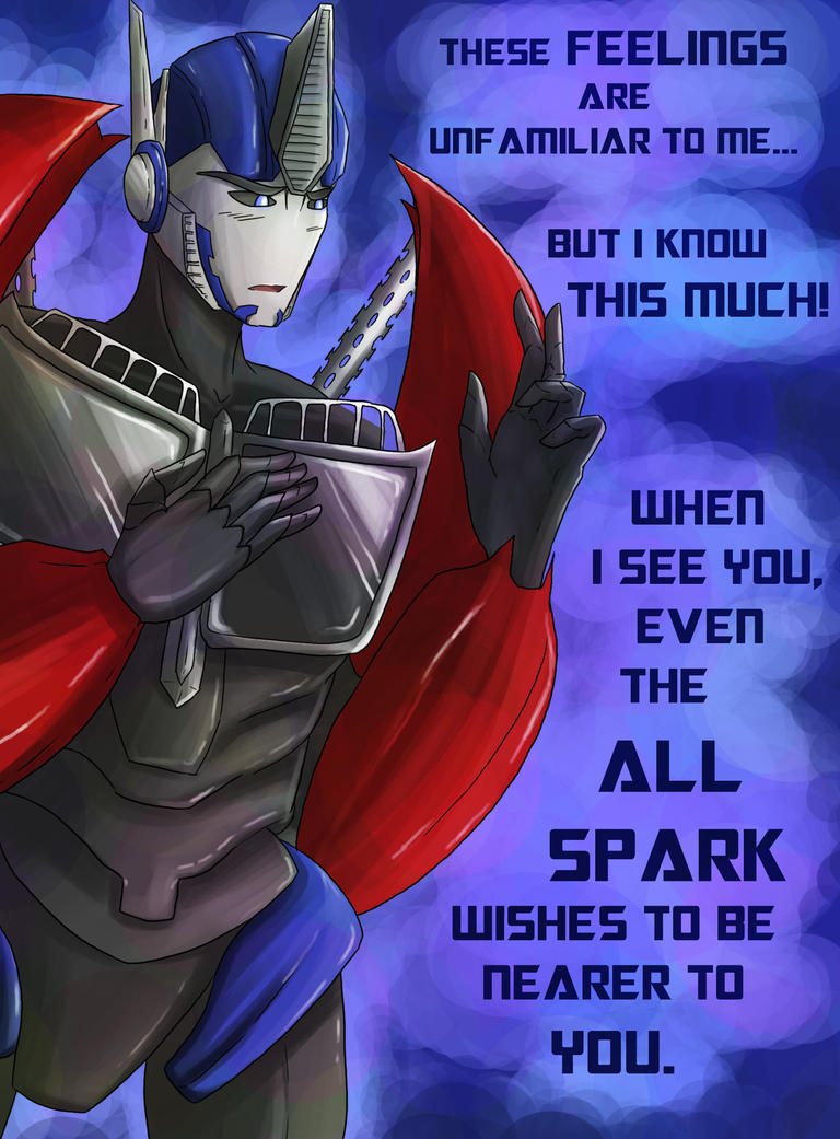 Optimus' Valentine by Cold-Creature
