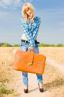 A Stylish Suitcase by Sulde