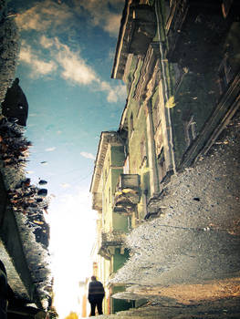 Street in the Puddle II