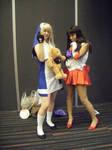 Sailor Mars n Bridget cosplay