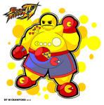 Pac-Man Street Fighter IV