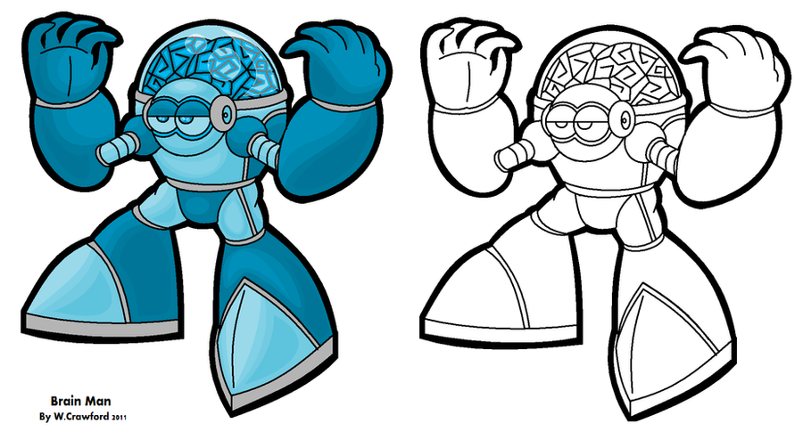 Megaman brain man by frgrgrsfgsgsfgggsfsf on deviantart megaman brain man by frgrgrsfgsgsfgggsfsf thecheapjerseys Gallery