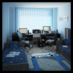 Interior 3d - My room