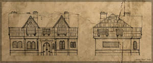 Sketch - Medieval House
