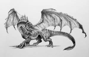 Black Dragon by Araiel