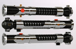 3d - Obi Wan Lightsaber by Araiel