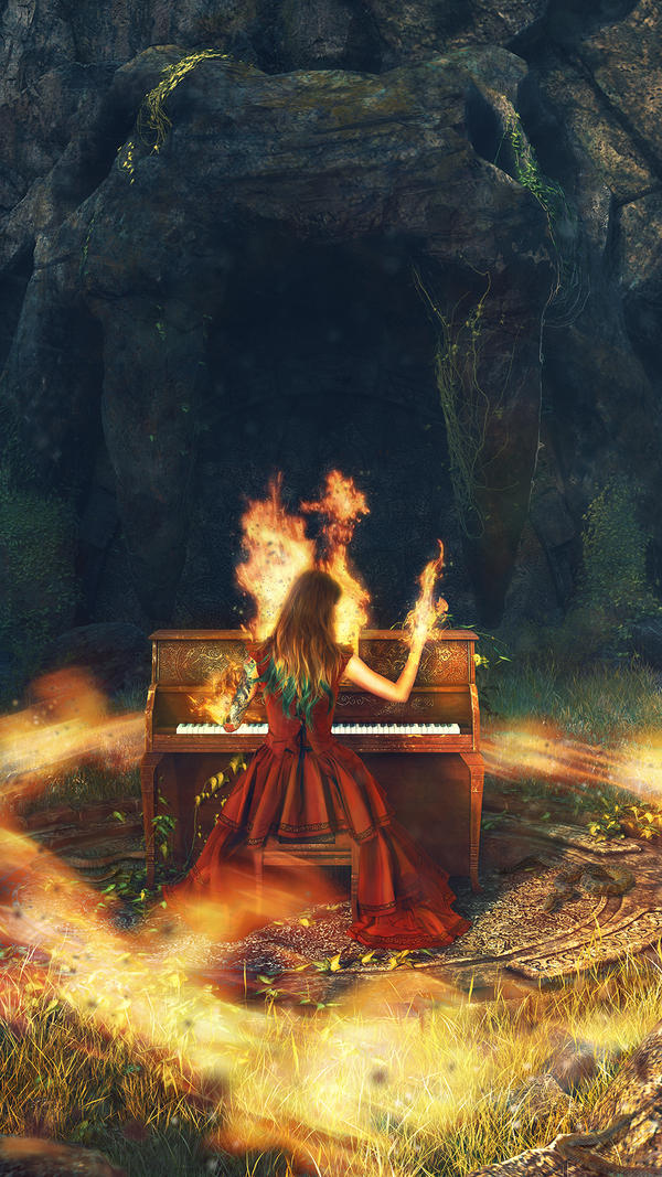 Fire Burning Sound #1 by Araiel