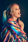 Whiteee Fox - Harley Quinn - Birds of Prey 001 by Araiel