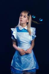 Alice in Wonderland cosplay - White Fox - 001 by Araiel