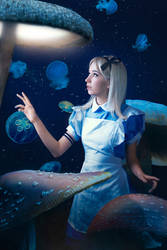 Alice in Wonderland cosplay - White Fox - 003