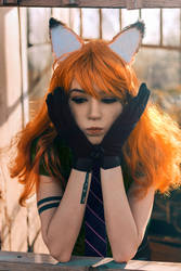 Nick Wilde cosplay - White Fox - 002