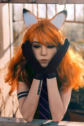 Nick Wilde cosplay - White Fox - 002 by Araiel