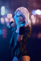 Black Canary cosplay - White Fox - 001