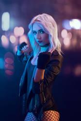 Black Canary cosplay - White Fox - 001
